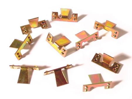 Clips pour baguette de marche-pied de 9mm