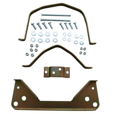 Kit complet cadre métallique, fer sur fer.