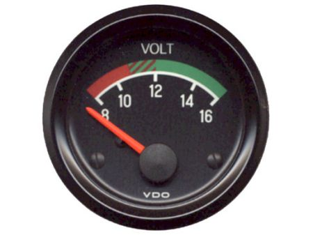 voltmètre 12 volts VDO  52mm