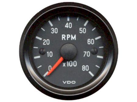 compte-tours electronique (0-8000 tr/min) VDO  52mm