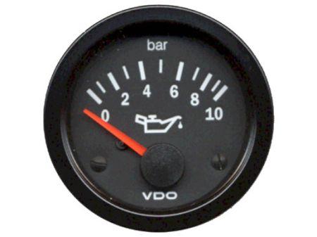 manomètre de pression d'huile 0-10 bars diam 52mm VDO