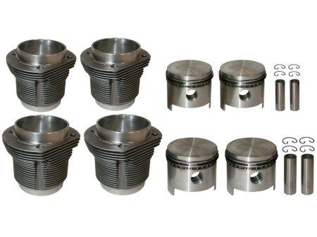 Kit piston & cylindre T4 96mm pour 1800cc