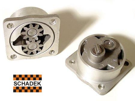 Pompe à huile gros débit, aluminium, Schadek  T1 08/71-