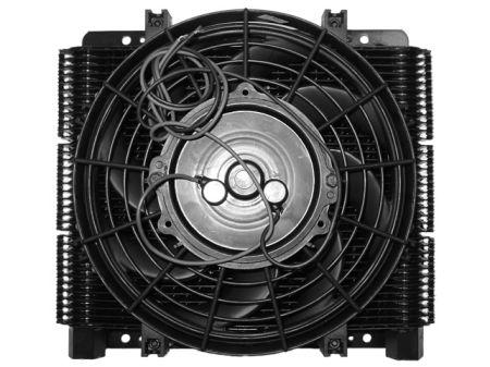 Radiateur d' huille 72 lamelles - avec ventilateur