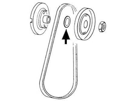 Rondelles de  reglage poulie (10pièces)