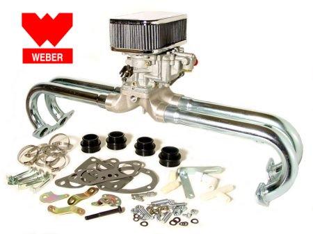 kit carburateur WEBER 32-36 progressif T4