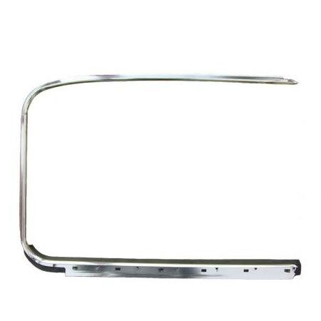 Lèche-vitre et chrome extérieur droit 07/64 (Qualité allemande)