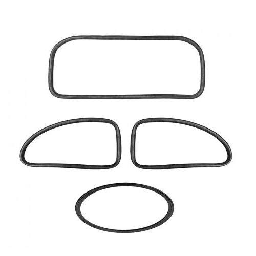 Kit joint de vitre (Qualité allemande) 04/5307/57 (4 pièces)