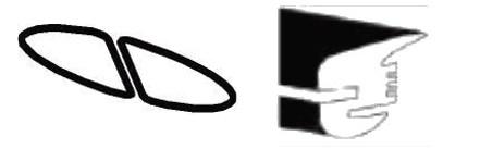 Joint de vitre arrière (Qualité allemande) <-03/53
