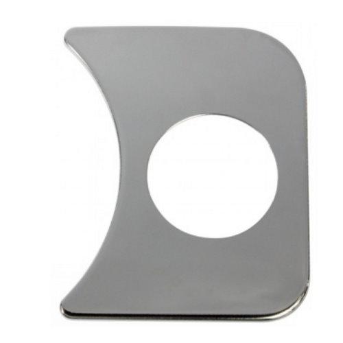 couvre tableau de bord chromé droit 1 trou
