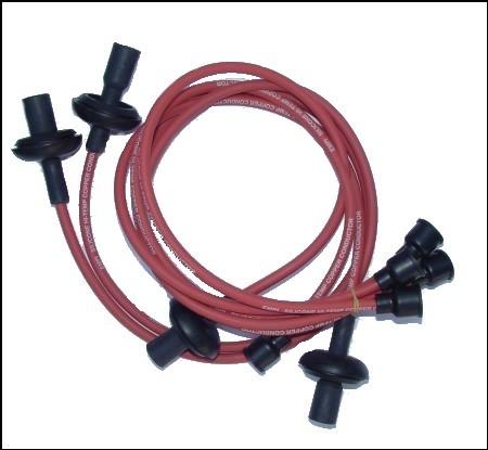 Câbles de bougies Type 1 ROUGE Empi