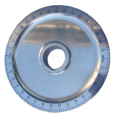 Poulie alu bleue diamètre origine sans trous
