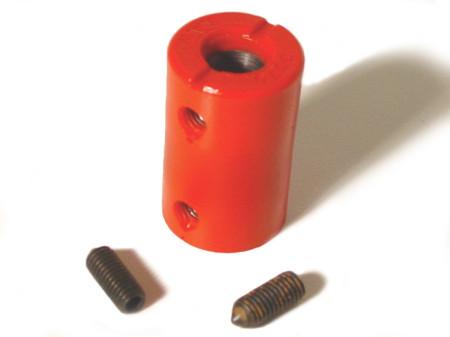 coupleur de tringlerie de boite vitesses urethane -8/63