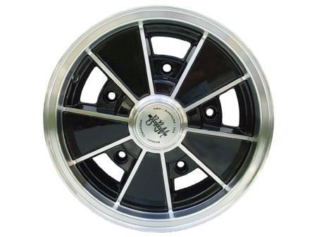 """Jante BRM replica noire 4,5x15"""" 5 trous"""