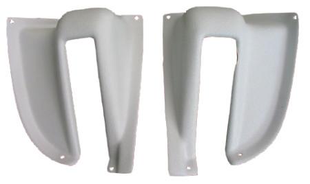 set de 2 caches de mécanisme de hayon arrière 68-79