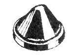 Caoutchouc silentbloc de jupe arrière (Original)