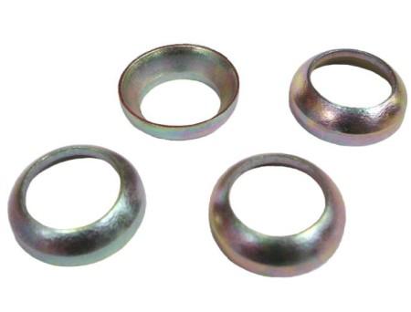 Set de 4 rondelles de conversion de boulonnerie de type conique