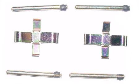 Kit de montage de plaquettes de frein1302 08/71-07/72