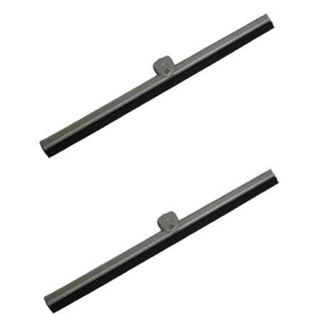 Balais d'essuie-glace gris T1 58-64 paire 24,5cm