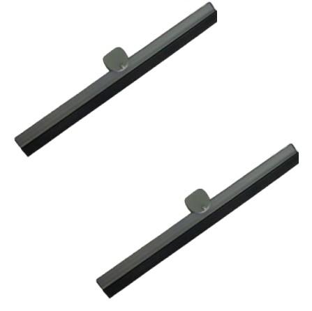 Balais d'essuie-glace gris T1 56-57 PAIRE  18,5cm