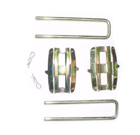 Kit de montage de plaquettes de frein, Girling Type 1 08/72-07/79/ Type 14 08/72