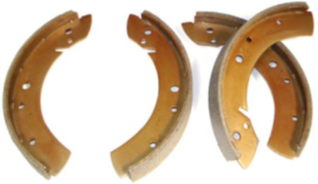 Patin de frein avant ou arrière Type1 01/54-10/57 (4 pièces)