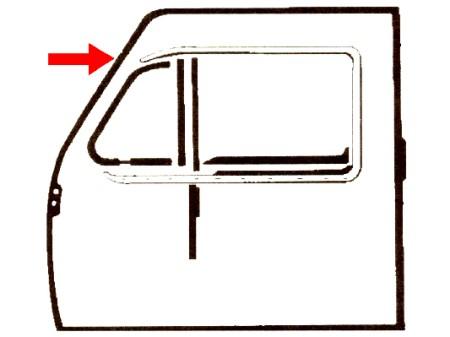 Joint de porte gauche et droit (Qualité allemande)
