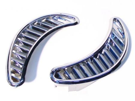 GRILLES LATERAL PR. CHROME