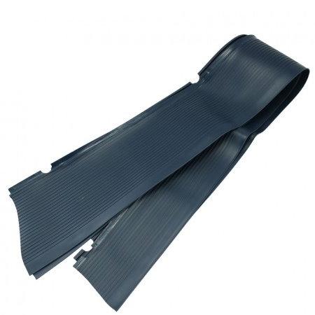 Tapis de marche-pied bleu foncé