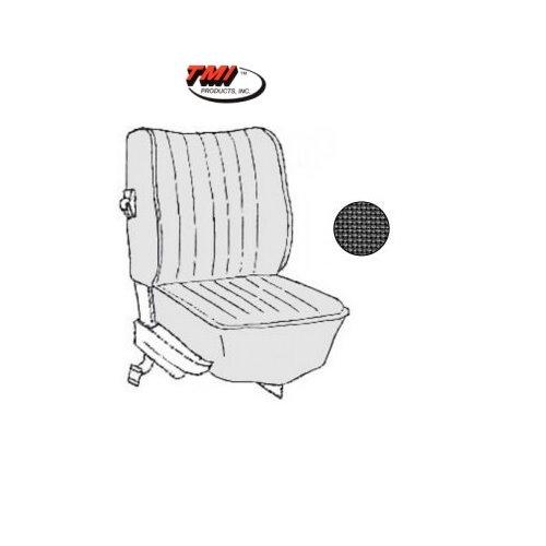 KIT HOUSSES DE SIEGES Type1  NOIR  73 euro style  (Basket 01)