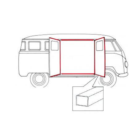 Joints pour portes latérales gauche/droite (Qualité supérieure)