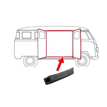 Joints pour portes latérales gauche/droite