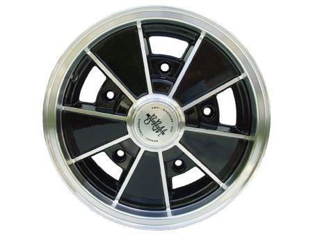"Jante BRM replica noire 5.5x15"" (5/205)"