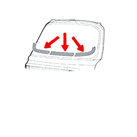 Kit de réparation de tour de pare-brise