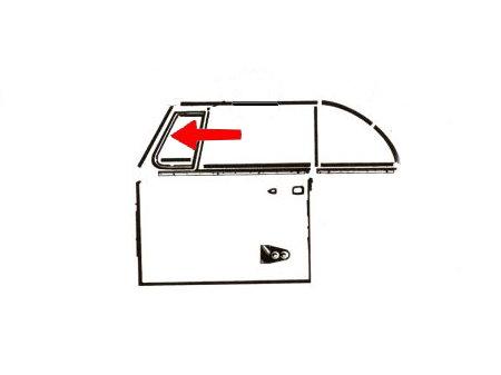Joint de déflecteur gauche (Qualité allemande)