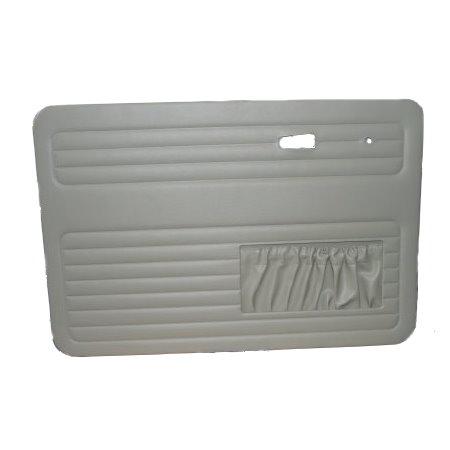 set de 4 panneaux de porte gris clair (off white #15) avec vide poche 7/67- TMI