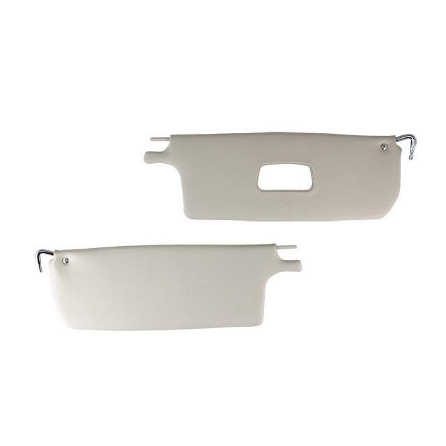 Pare soleil T1 65-72 cabrio pair blanc