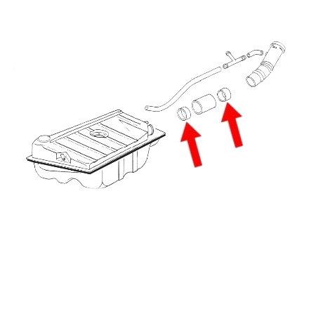 Joint d'étanchéité pour tuyau de remplissage de réservoir essence (1)