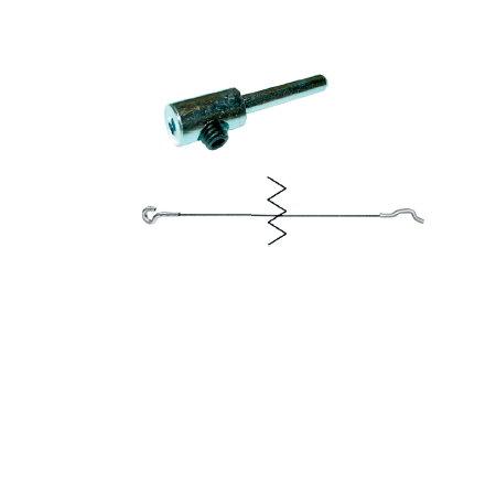 câble d'accélérateur universel avec raccourcisseur  (L 4,5m)