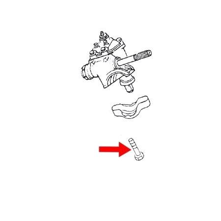 Boulon de boitier de direction Cox/Karmann Ghia (1)