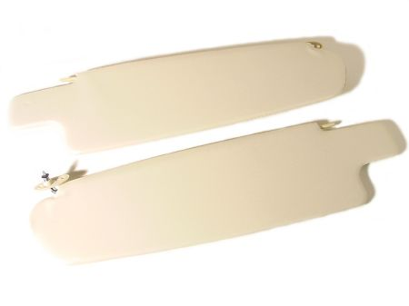 Pare-soleil Type2 68- blanc paire