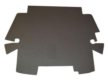 carton de coffre avant  8/67- pour véhicule avec boite de ventilation (sauf 1302