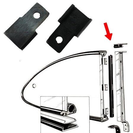 Joints supérieurs du montant vertical de pop-out arrière sur caisse 6074