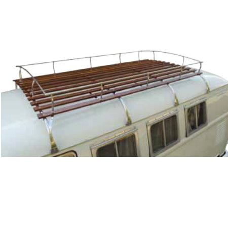 Galerie de toit 4 arceaux Type 2 (inox)