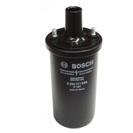 .bobine noire d'allumage 12 V Bosch à bain d'huile