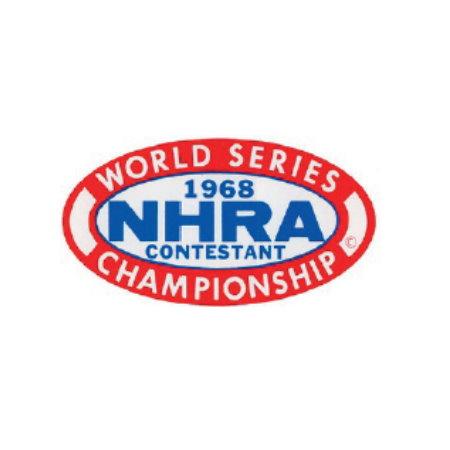 Autocollant NHRA World Series 68 130x70mm