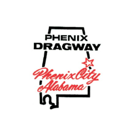 Autocollant Phenix Dragway Alabama 100x80mm