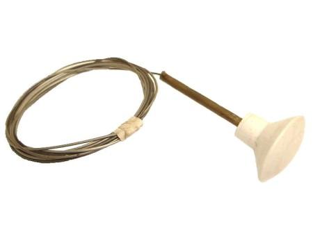 Cable de capots avant, bouton couleur ivoire Type1 -67