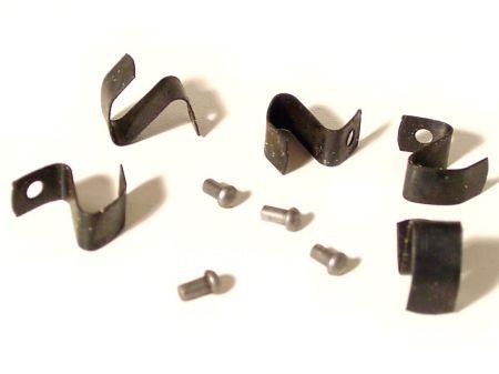 Kit de clips et rivets pour montage/restauration de jante 5 trous