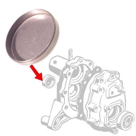 Pastille de réducteur 64-7/67 (en métal)